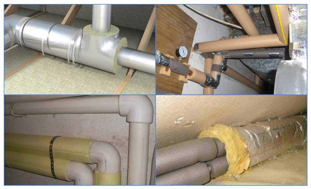 Утепление канализационных труб: какой утеплитель использовать?