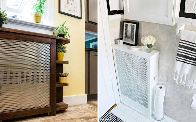 Как закрыть батарею отопления в комнате – выбираем оптимальный вариант