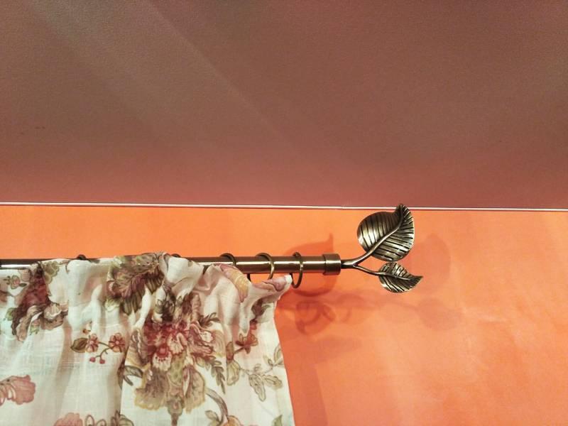 Как установить скрытый карниз в натяжном потолке, смотрите фото +видео — полезно знать
