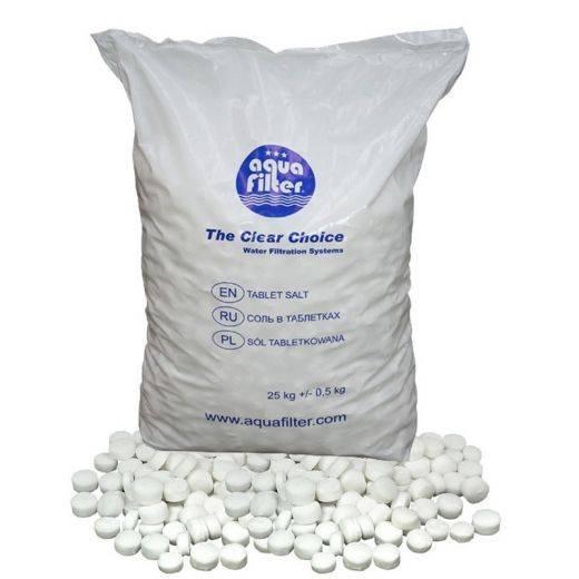 Как применять таблетированную соль для водоочистки в быту