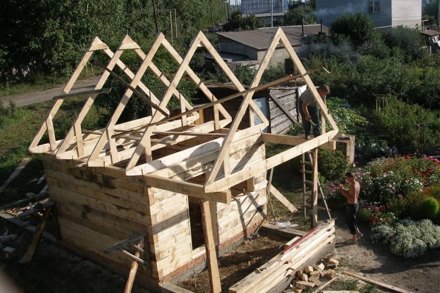 Как сделать каркас крыши своими руками – технология и устройство