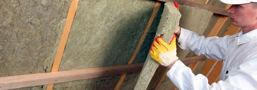 Базальтовый утеплитель для стен снаружи дома: особенности использования каменной ваты