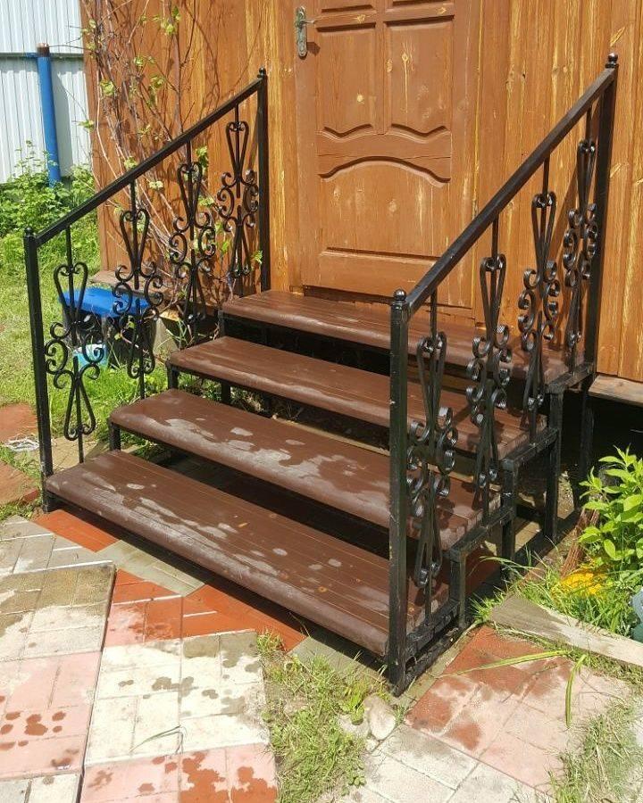 Ступени для лестницы, для крыльца: деревянные, металлические, бетонные, их виды и отличия