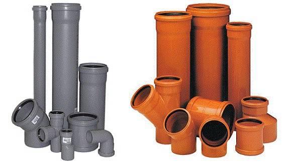 Какого цвета и предназначения бывают канализационные трубы и фитинги