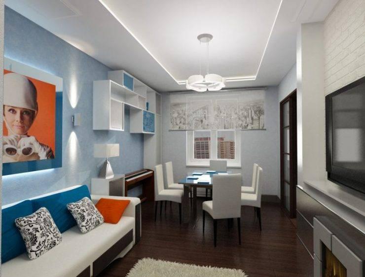 Дизайн двухкомнатной квартиры   100 лучших интерьеров (фото)