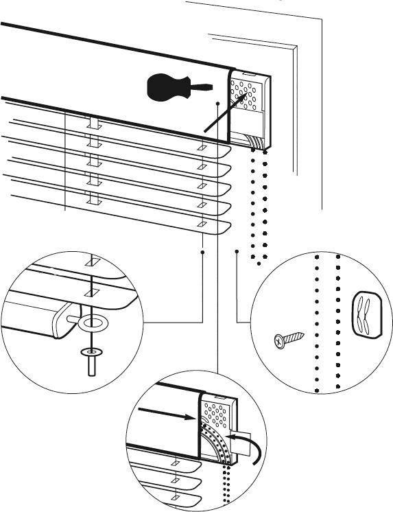 Как крепить жалюзи на пластиковые окна – монтаж без сверла