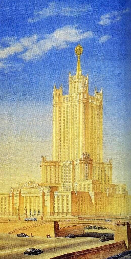 Гигантомания красной эпохи: пять грандиозных архитектурных проектов, которые должны были украсить москву