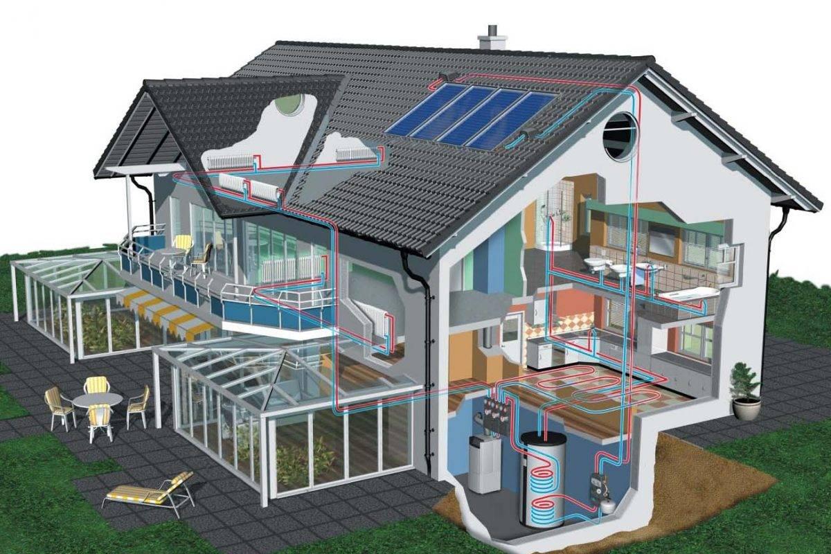 Экономичное отопление частного дома, самый экономный способ