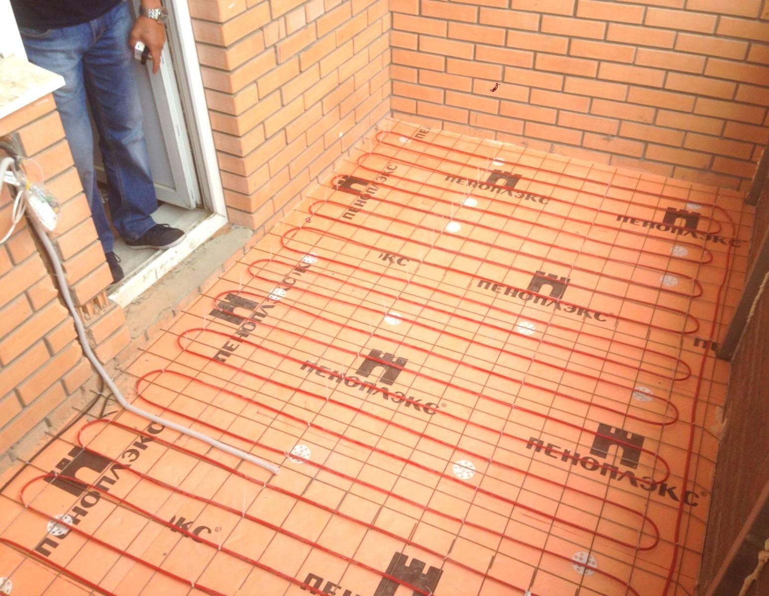Выбор теплого пола на балкон и лоджию, какой теплый пол лучше - инфракрасный, электрический, водяной