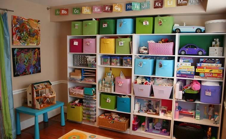 Идеи для хранения игрушек в детской комнате: простые и оригинальные
