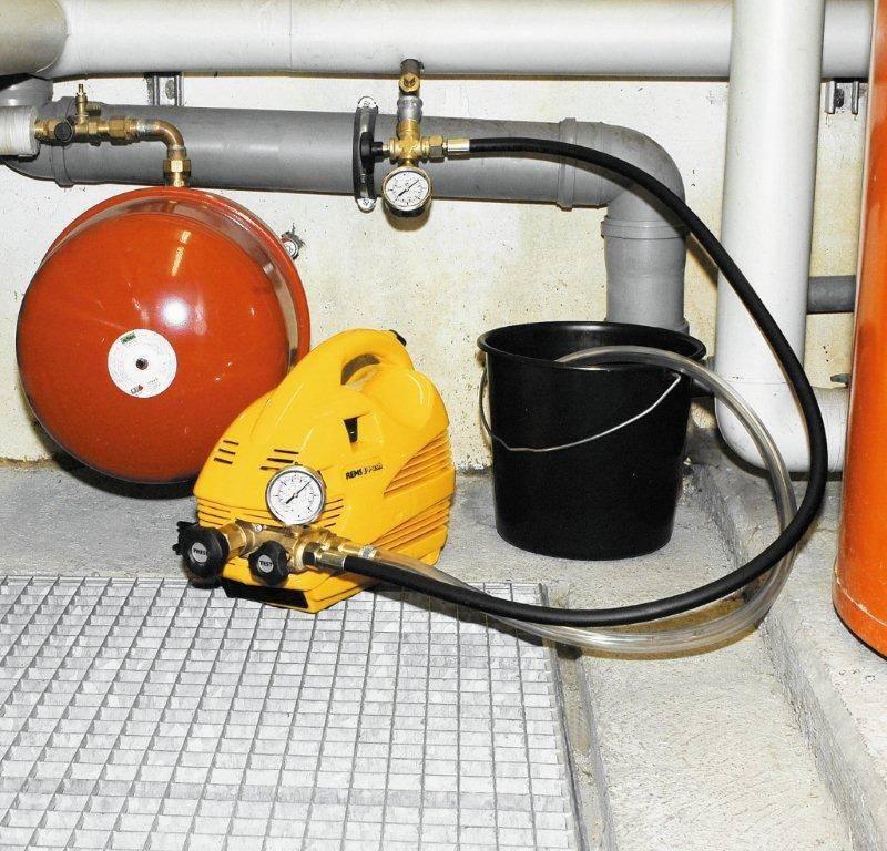 Каким давлением опрессовывают систему отопления? - отопление и водоснабжение от а до я