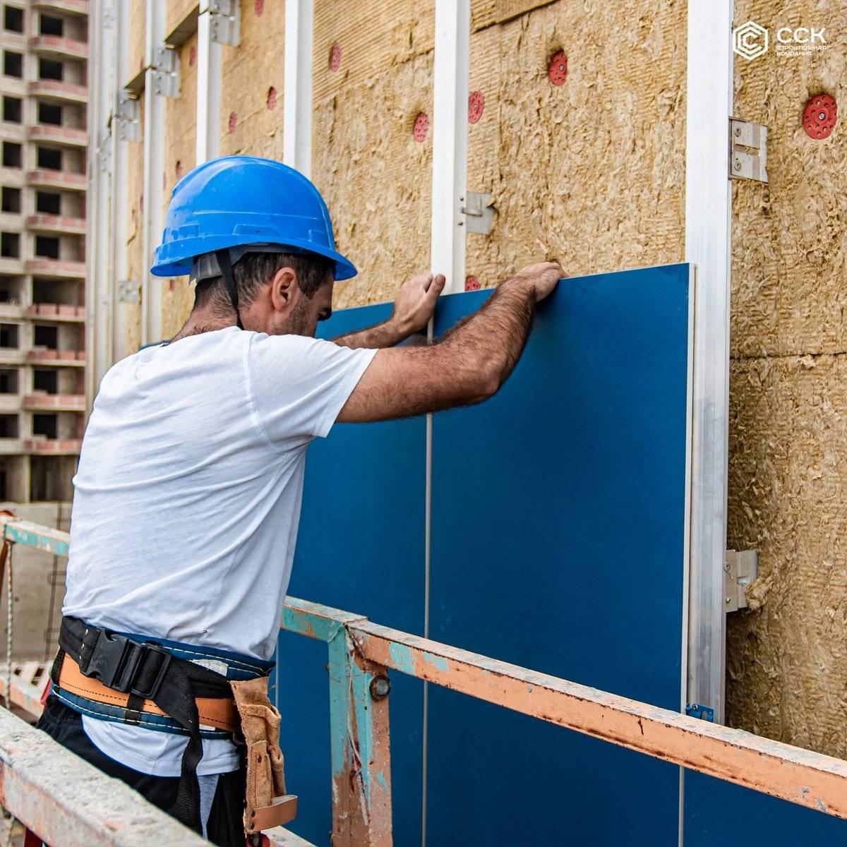 ➤ наружная отделка дома, выбор материалов и этапы   мы строители ✔1
