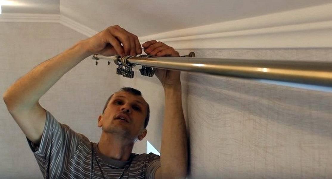 Как повесить карниз для штор на стену (32 фото): как прикрепить пластиковый шинный настенный на кронштейны к гипсокартону и деревянный