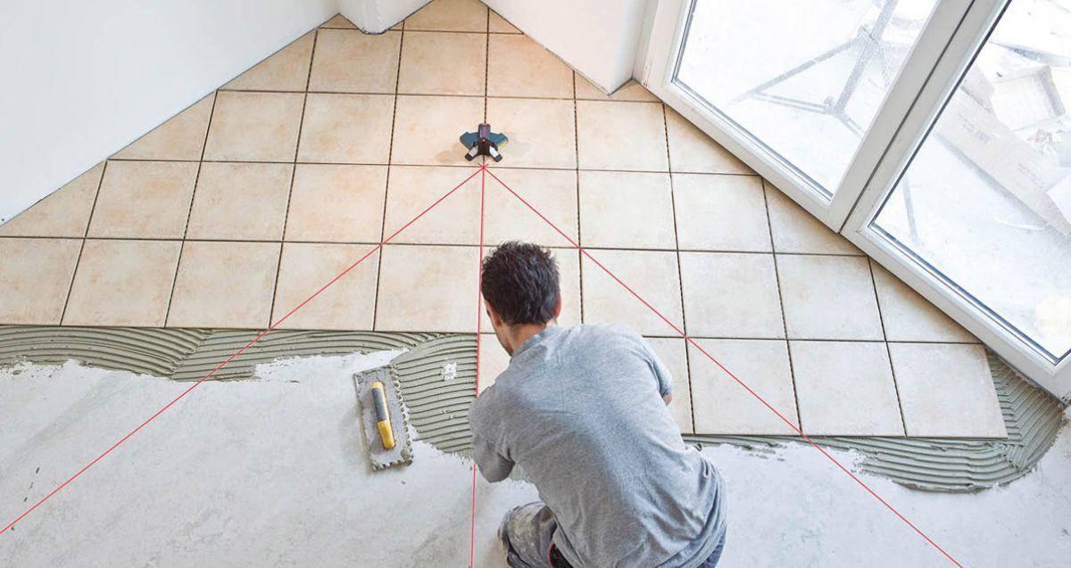 Укладка плитки по диагонали: расчет, монтаж, топ-3 производителей