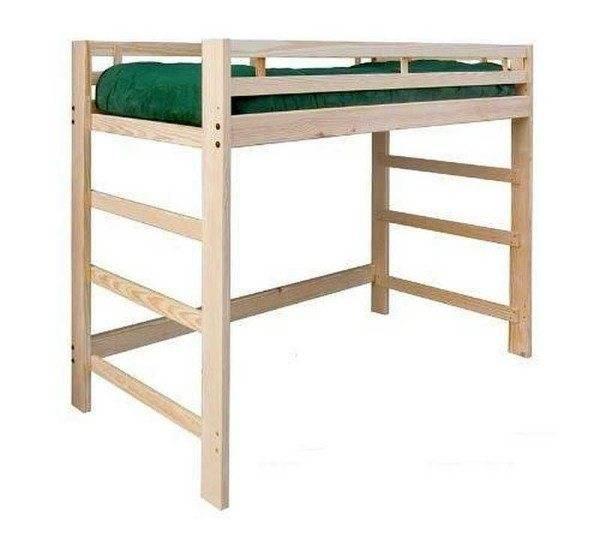 Как сделать кровать-чердак своими руками?