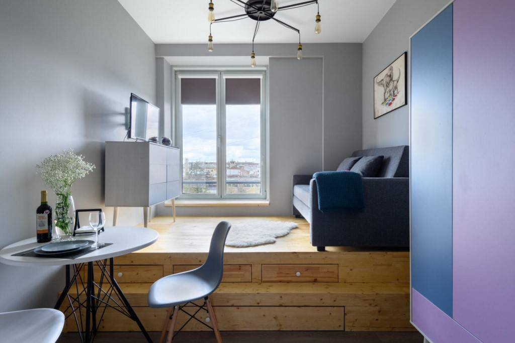 Идеи организации интерьера маленьких квартир