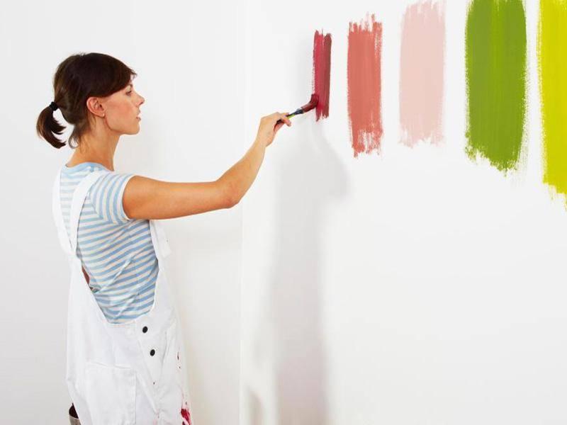 Лучшие краски для обоев под покраску на 2021 год