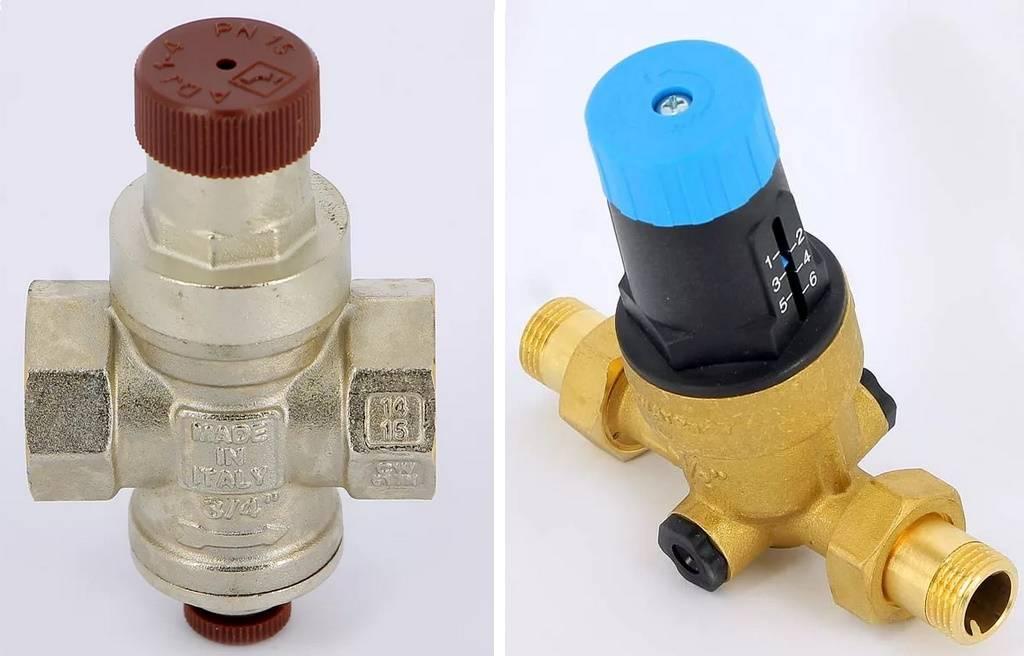 Устройство, принцип работы и установка редуктора давления воды