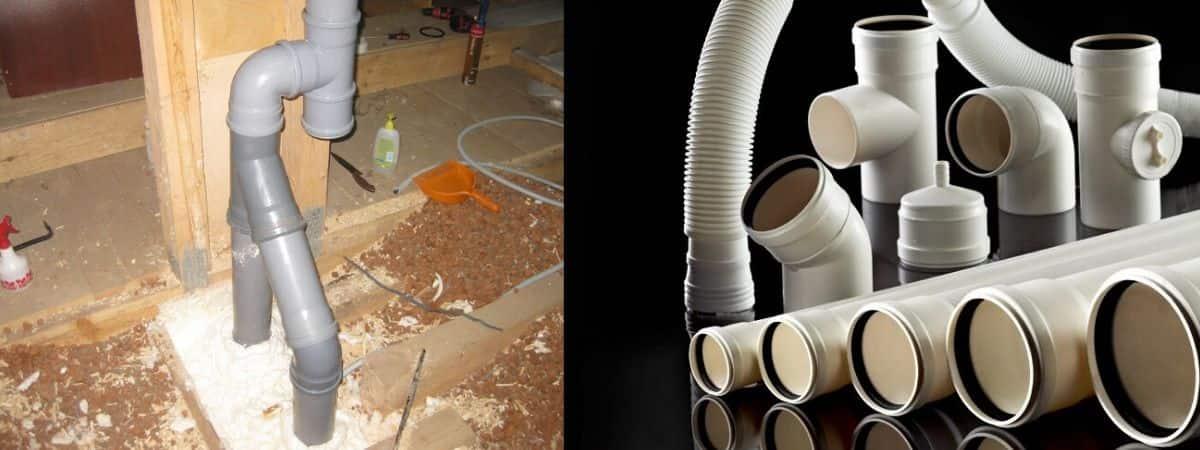 Вентиляция из канализационных труб: вытяжная в гараже и доме своими руками