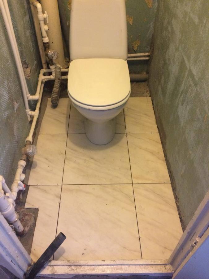 Капитальный ремонт в туалете своими руками: с чего начать и как спрятать трубы