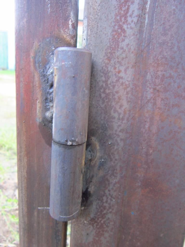 Как приварить петли на ворота самостоятельно? инструкция