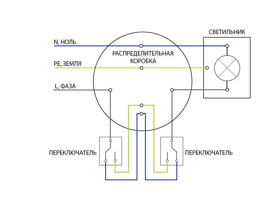 Чем проходной отличается выключатель от обычного   в чем разница