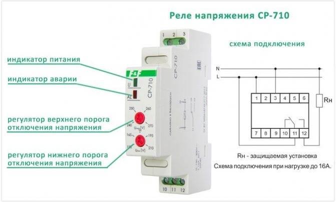 Реле напряжения 220в для дома - зубр, digitop, узм, рн-113