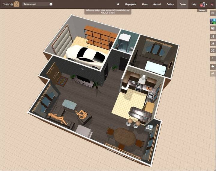 15 лучших бесплатных приложений для дизайна интерьера - все курсы онлайн