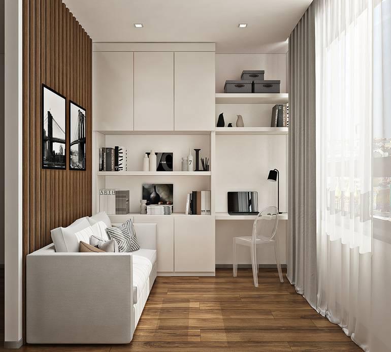 Дизайн однокомнатной квартиры: 6 шагов с реальными фото