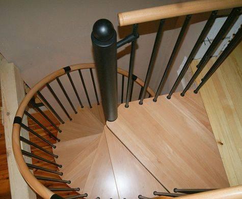 Как сделать винтовую лестницу из бетона своими руками — пошаговый план