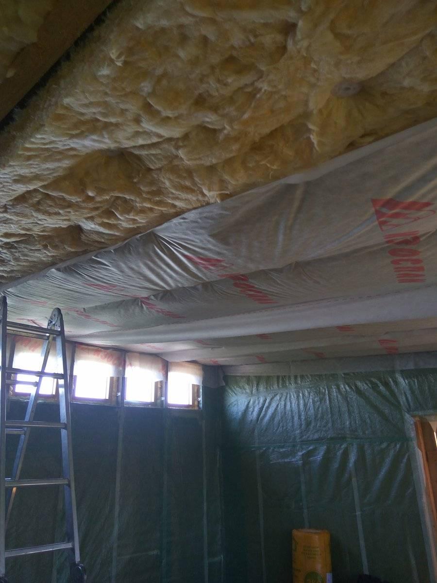 Утепление потолка в частном доме: пошаговые инструкции