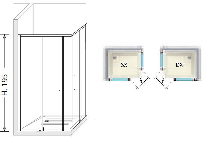 Размеры угловых душевых кабин: варианты с параметрами 90х90, 100х100, 80х80,120x80, 100х80, 70х70, душевой уголок с поддоном 120х80