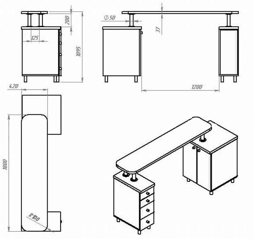 Как сделать барную стойку - секреты мастеров и пошаговая инструкция для самостоятельного изготовления