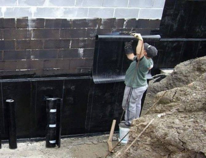 Технология обмазочной гидроизоляции фундамента