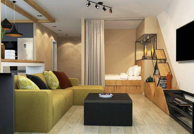 Квартира 35 кв. м. - обзор лучших дизайн-проектов (120 фото)
