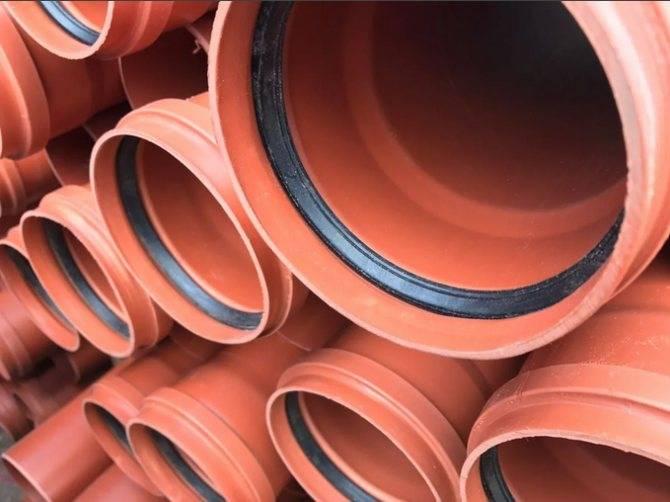 Маркировка и диаметры пластиковых труб для канализации