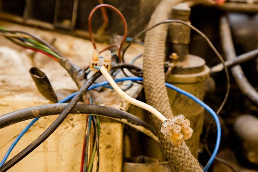 Соединение проводов и кабелей