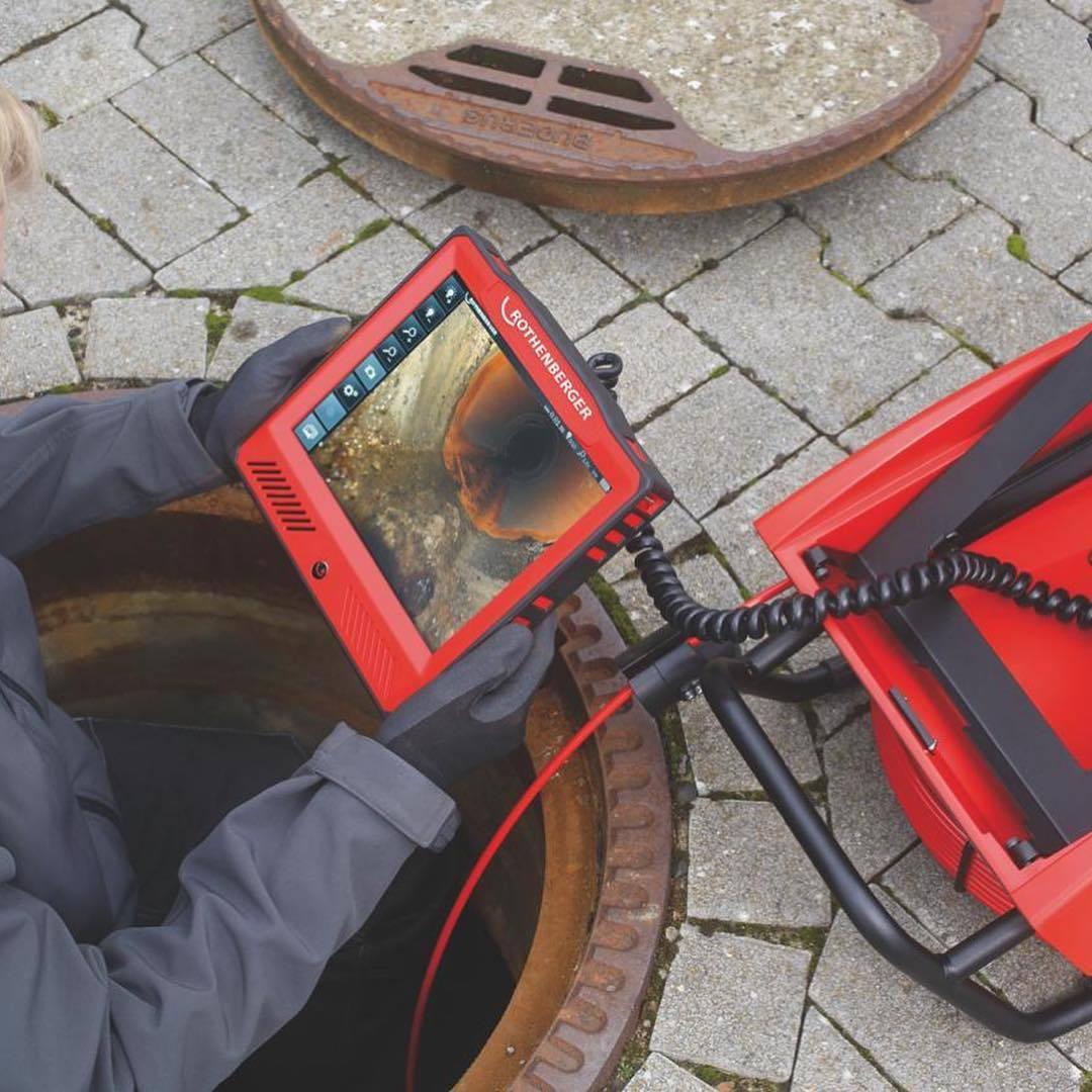Оборудование и камеры для осмотра канализационных труб