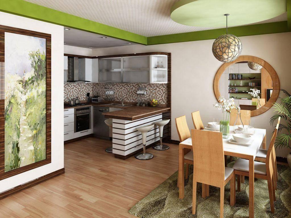 Как обустроить маленькую кухню - план и 10 супер фото