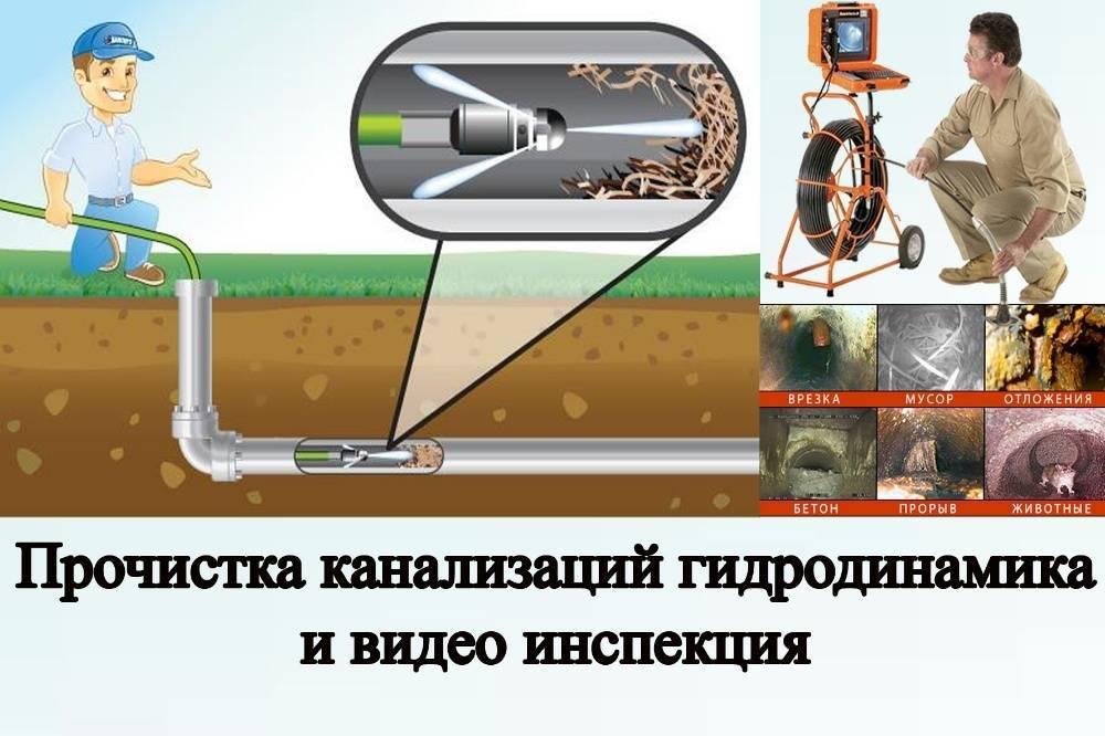 Чем прочищать засор в канализационных трубах