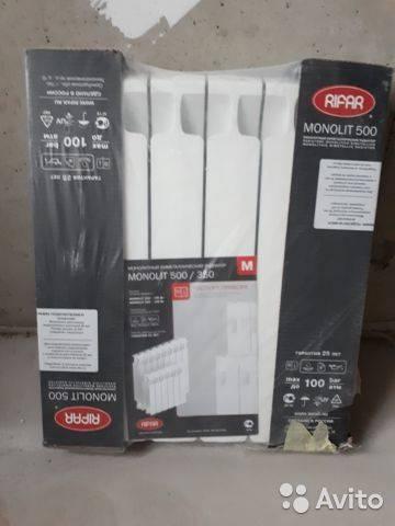 Отзывы о биметаллических радиаторах отопления рифар монолит 500, 350