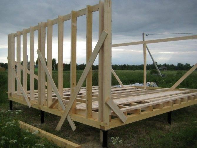 Как построить каркасный дом своими руками - фото и видео