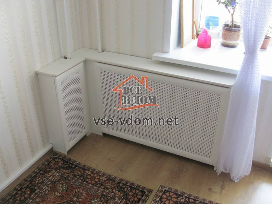 Как закрыть батарею отопления в комнате: чем прикрыть радиатор на кухне в квартире, как спрятать экраном своими руками