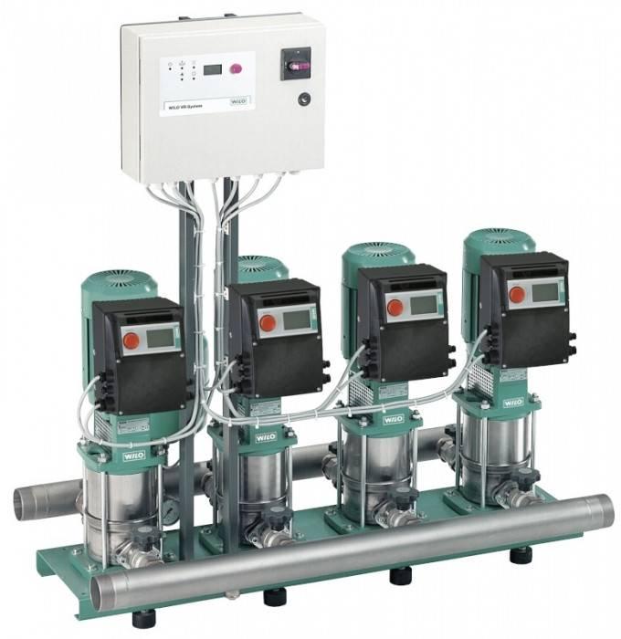 Повысительная насосная станция в системе водоснабжения и водоотведения
