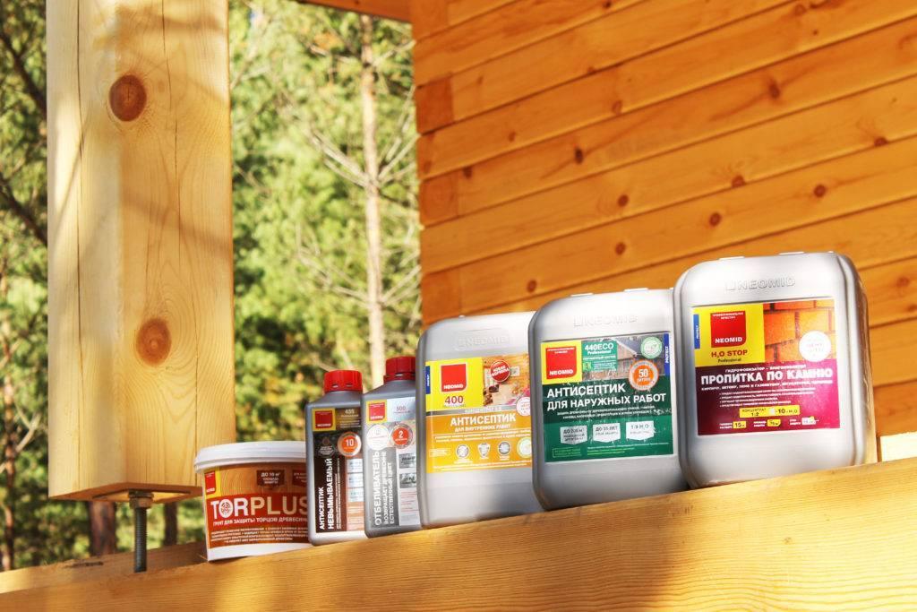 Рейтинг лучших антисептиков для обработки древесины