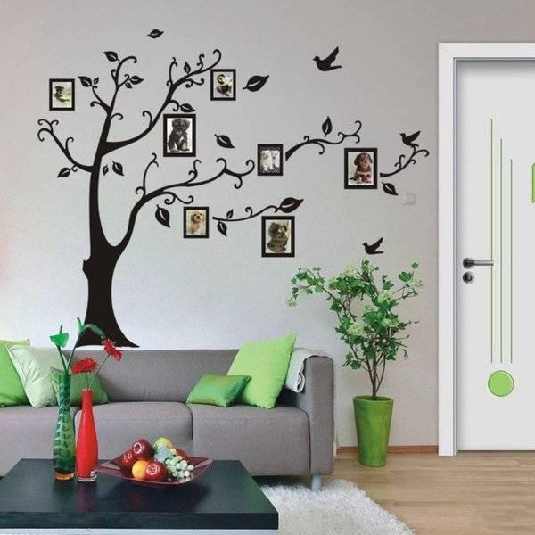 10 отличных идей декора стен: 30+ фото и примеров