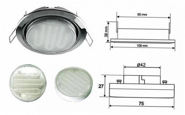 Размеры точечных светильников: обзор разных типов | 1posvetu.ru