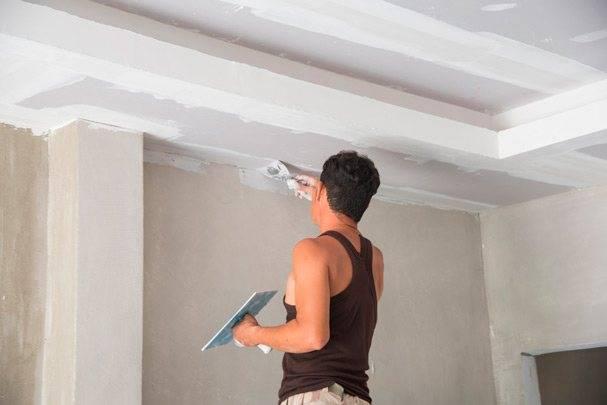 Чем покрасить потолок из гипсокартона, как правильно перекрасить, фотографии и видео