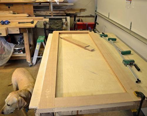 Как самому сделать красивые деревянные двери - поэтапное руководство + несколько полезных советов