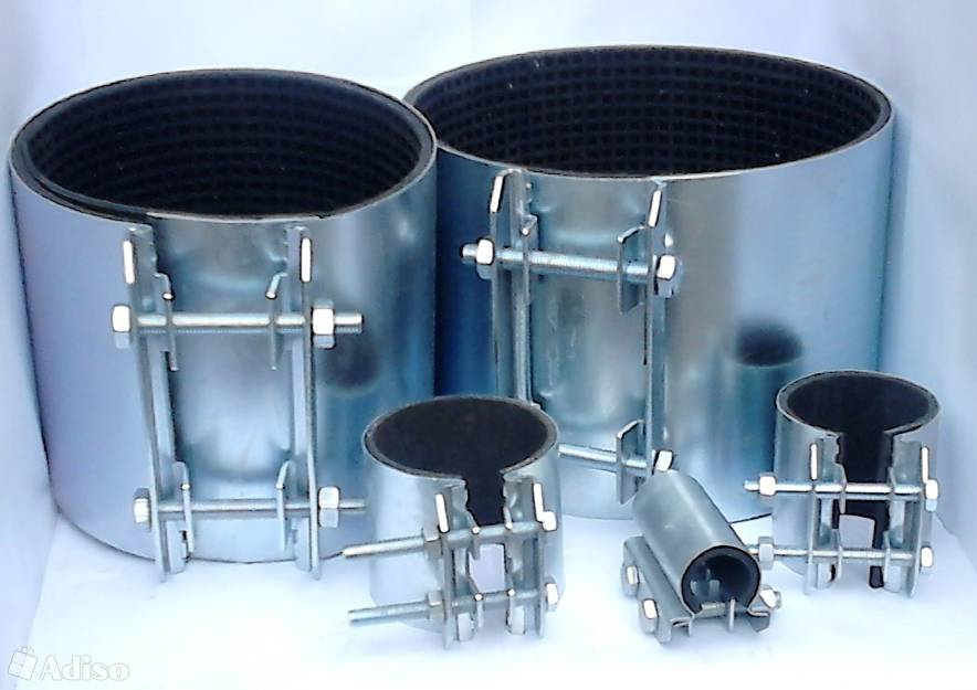 Металлические и стальные хомуты для крепления труб